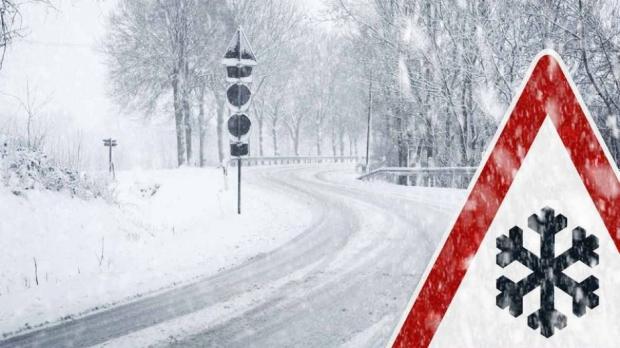 Зима, проход, снежна обстановка